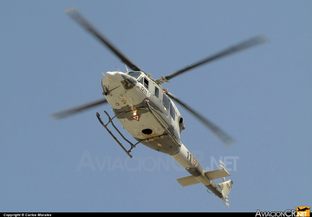 1211 - Bell 412EP - Fuerza Aerea Mexicana