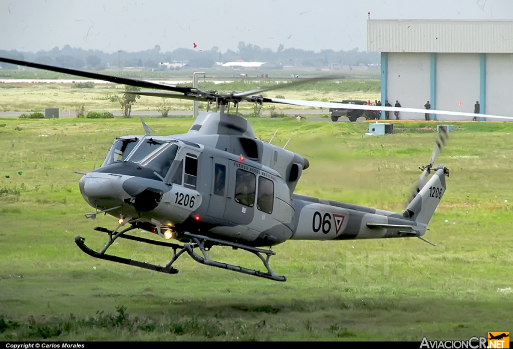 1206 - Bell 412EP - Fuerza Aerea Mexicana FAM