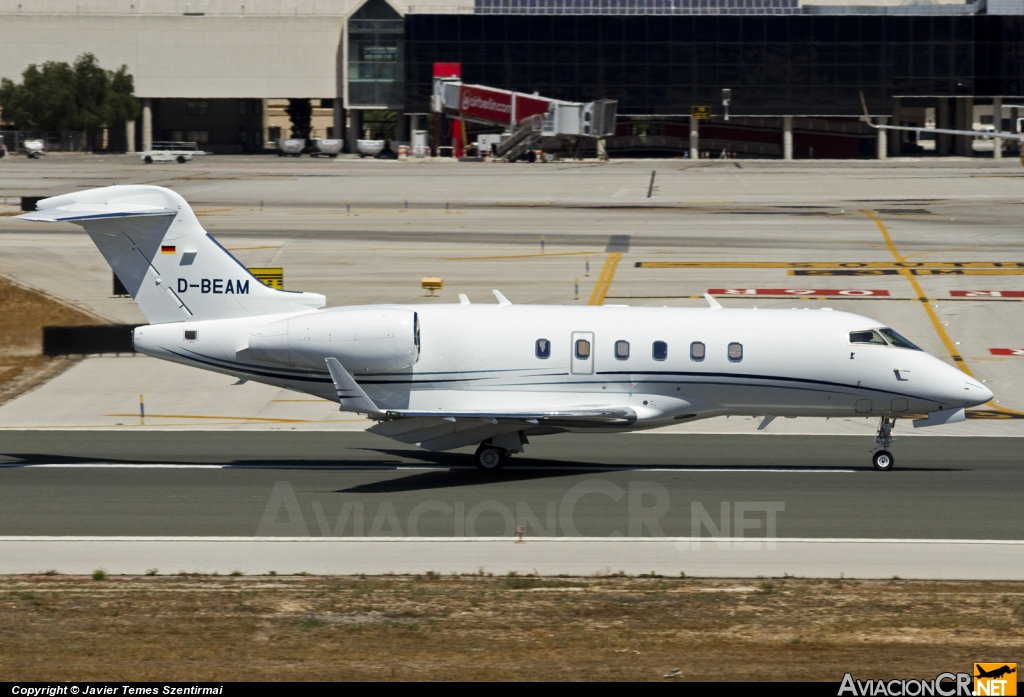 D-BEAM - Bombardier BD-100-1A-10 Challenger 300 - Privado