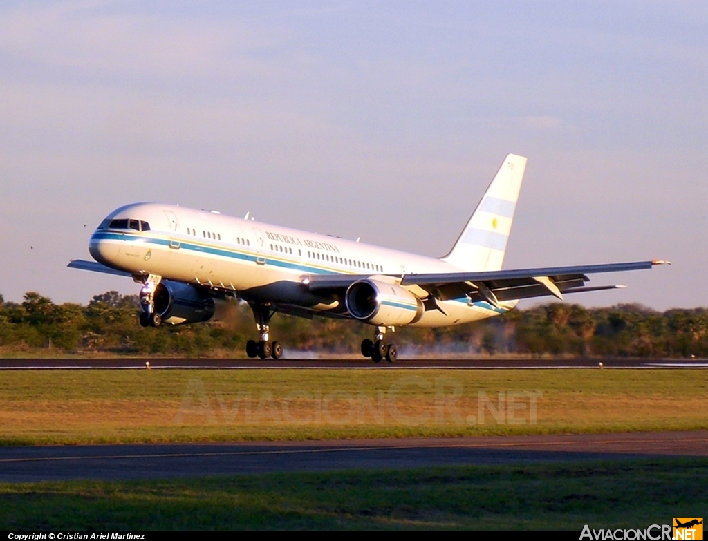 T-01 - Boeing 757-23A - Fuerza Aerea Argentina