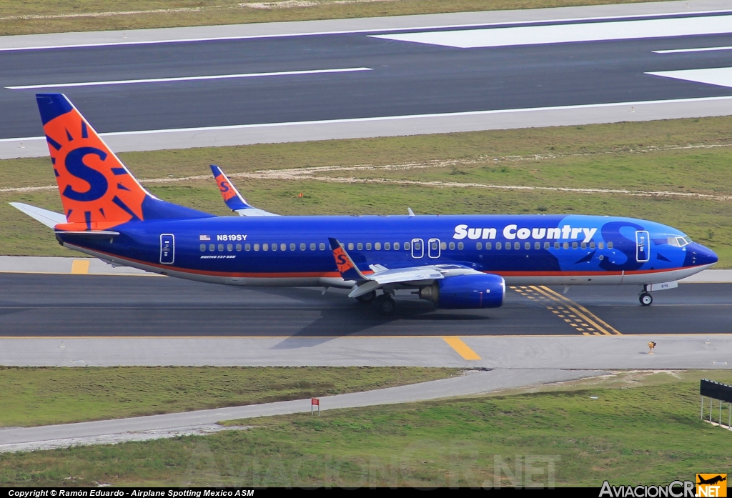 N819SY - Boeing 737-86N - Sun Country