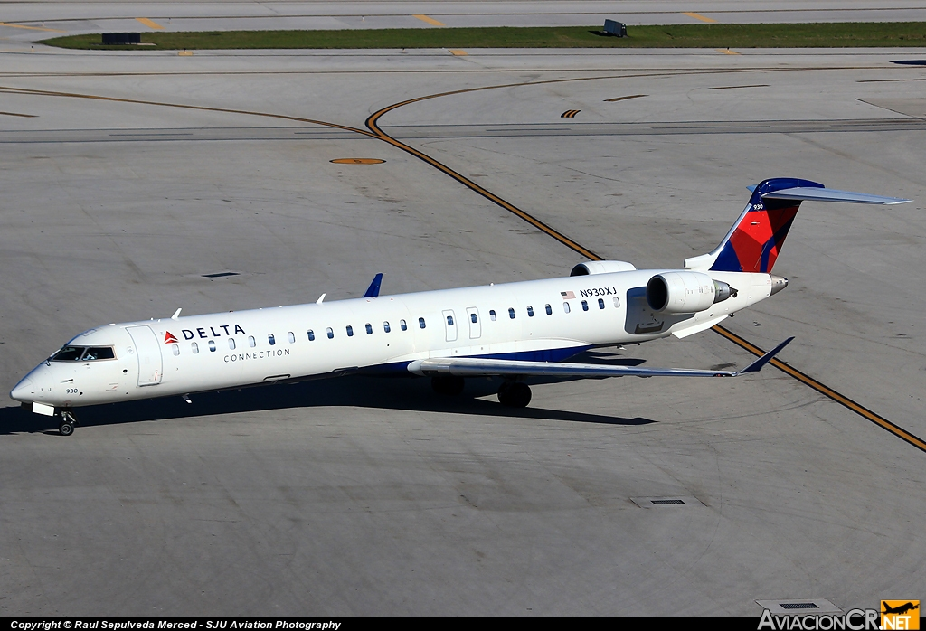 N930XJ - Bombardier CRJ-900ER (CL-600-2D24)  - Delta Connection (Endeavor Air)