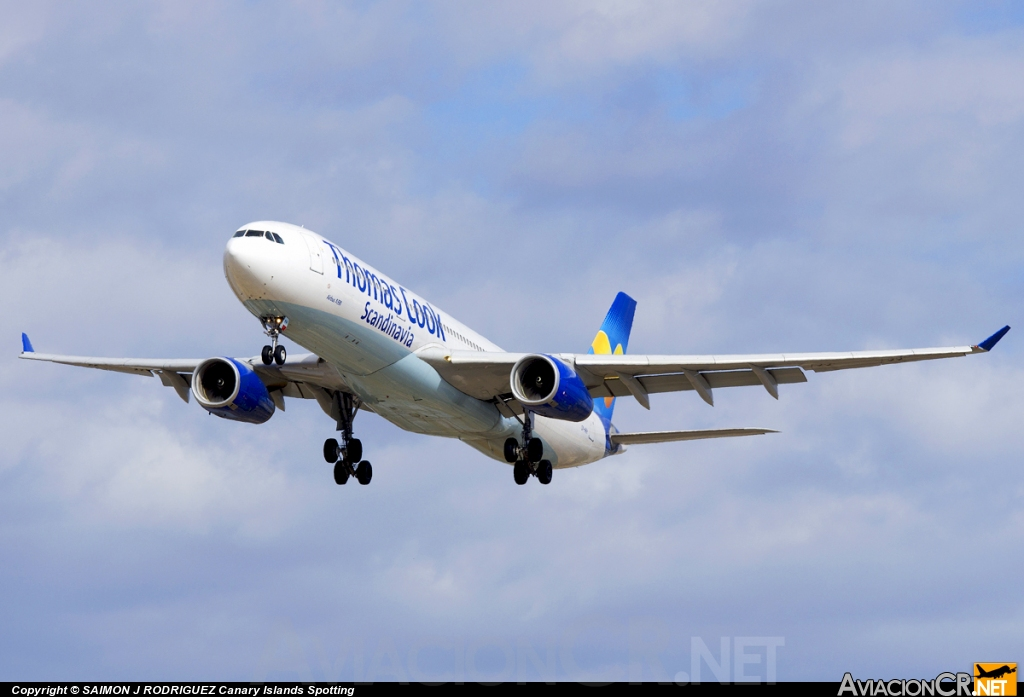 OY-VKH - Airbus A330-343X - Thomas Cook Airlines (Scandinavia)