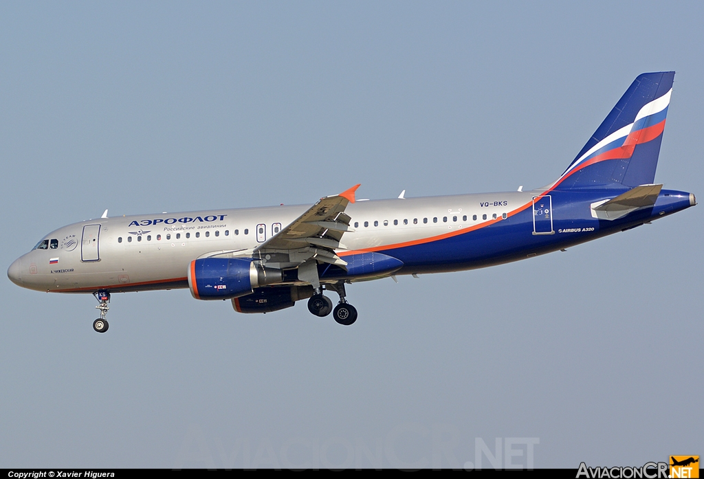 VQ-BKS - Airbus A320-214 - Aeroflot  - Russian Airlines