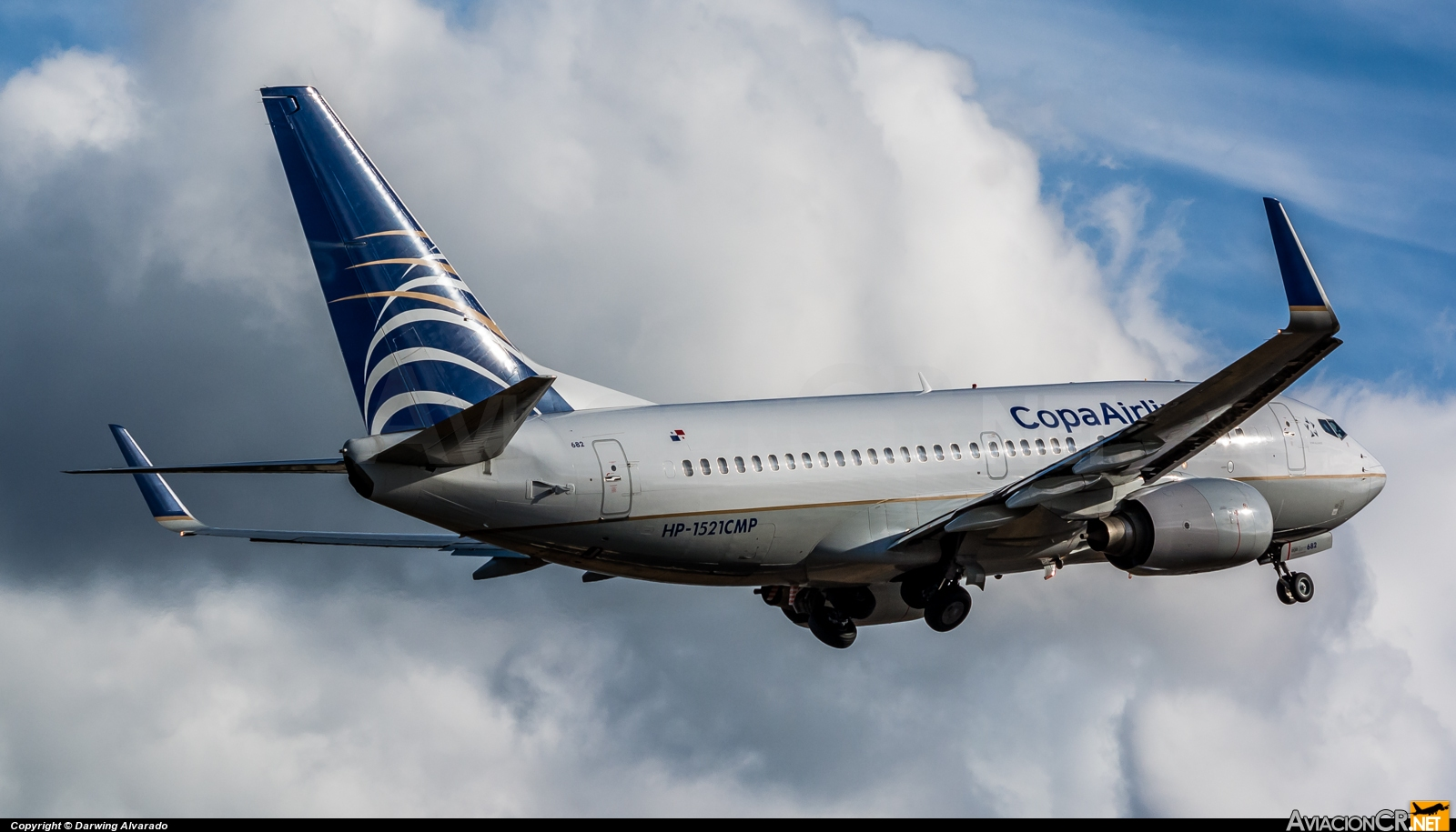 HP-1521CMP - Boeing 737-7V3 - Copa Airlines