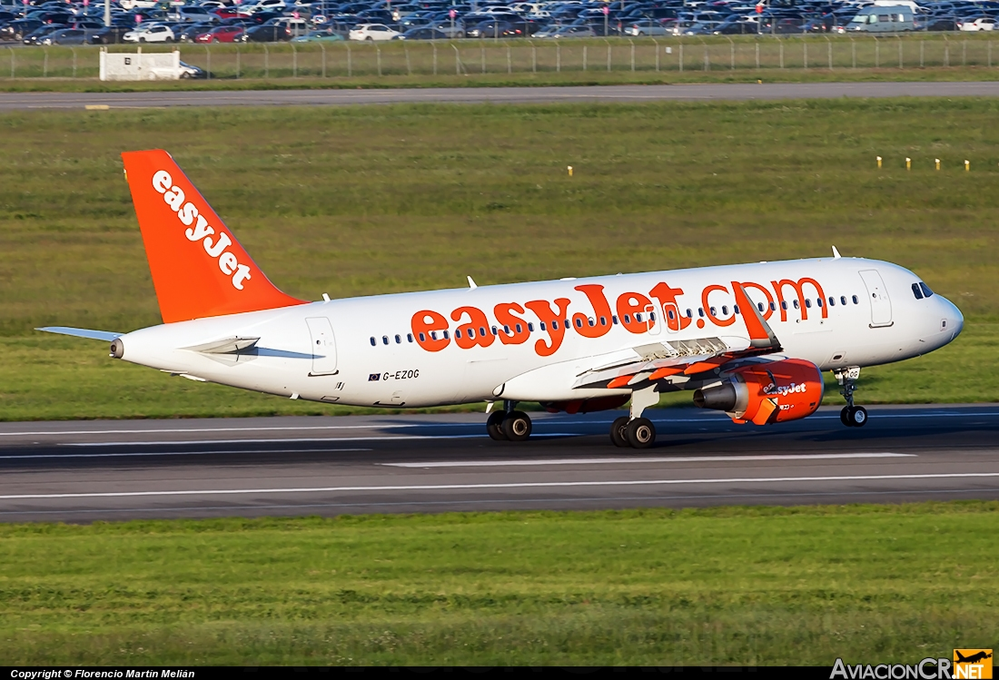 G-EZOG - Airbus A320-214 - EasyJet Airline