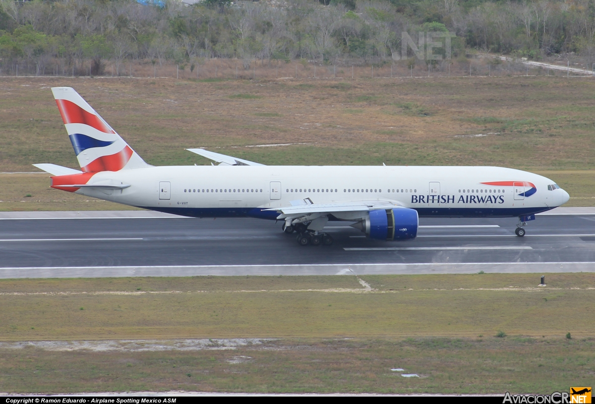 G-VIIT - Boeing 777-236/ER - British Airways