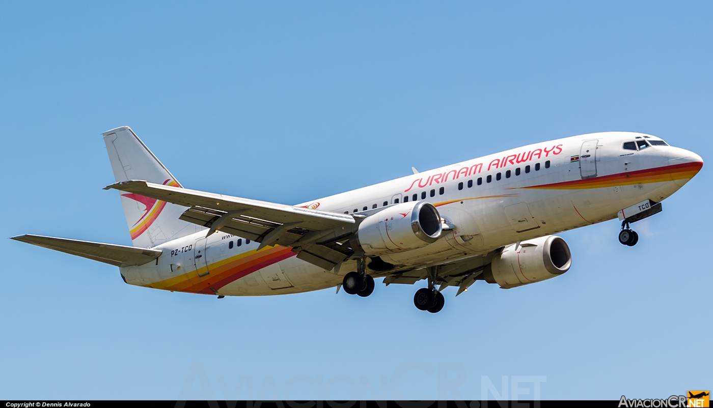 PZ-TCO - Boeing 737-36N - Surinam Airways