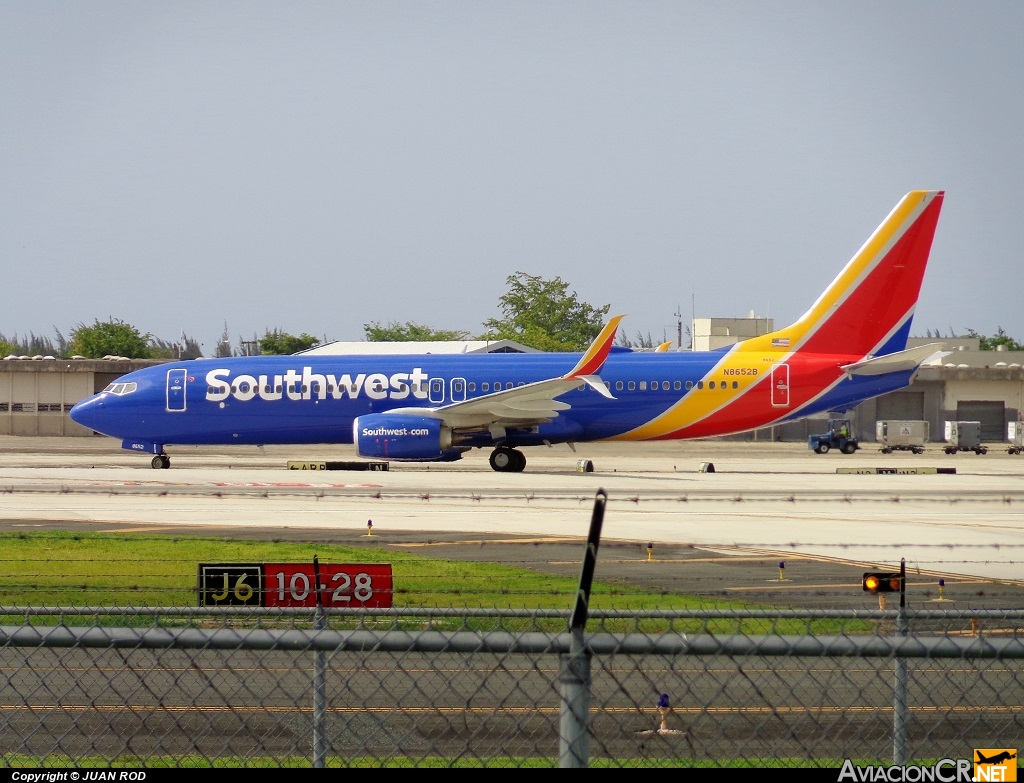 N8652B - Boeing 737-8H4(WL) - Southwest Airlines