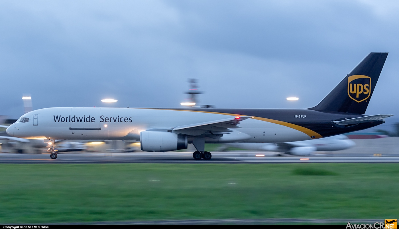 N459UP - Boeing 757-200F - UPS - United Parcel Service
