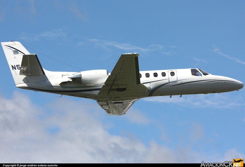 N560BC - Cessna 560 Citation V - Privado