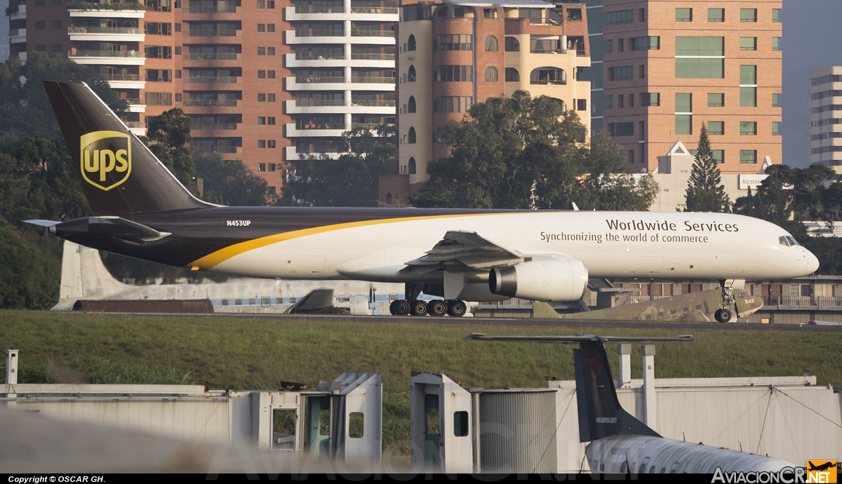 N453UP - Boeing 757-24A(PF) - UPS - United Parcel Service