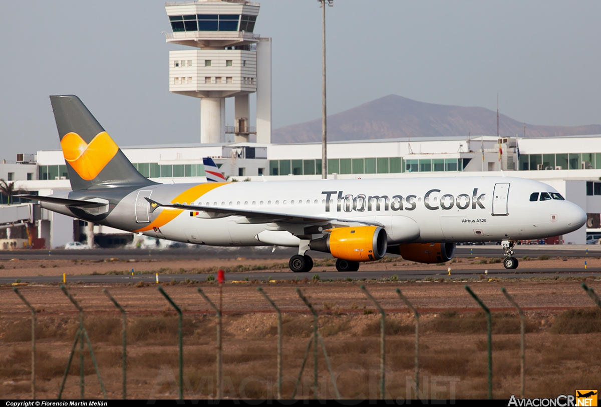 OO-TCX - Airbus A320-212 - Thomas Cook Airlines Belgiun