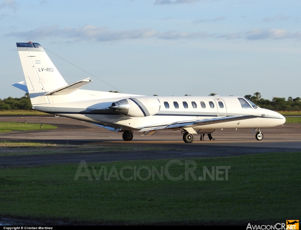 LV-RED - Cessna 560 Citation V - Privado