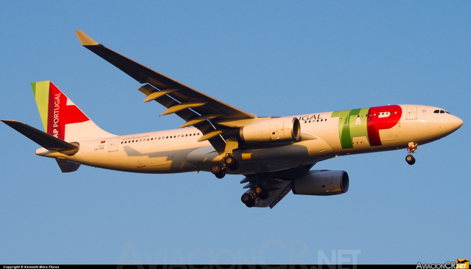 CS-TOS - Airbus A330-243 - TAP Portugal