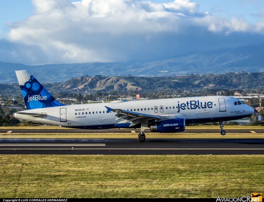 N649JB - Airbus A320-232 - jetBlue Airways