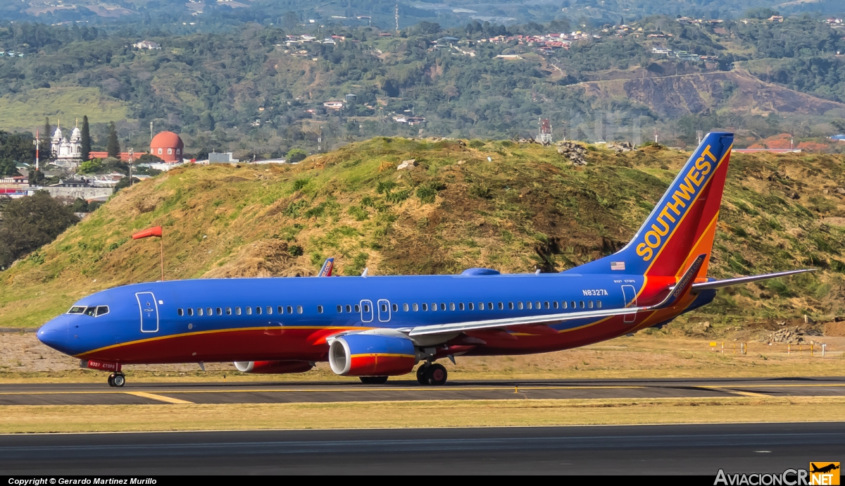 N8327A - Boeing 737-8H4 - Southwest Airlines