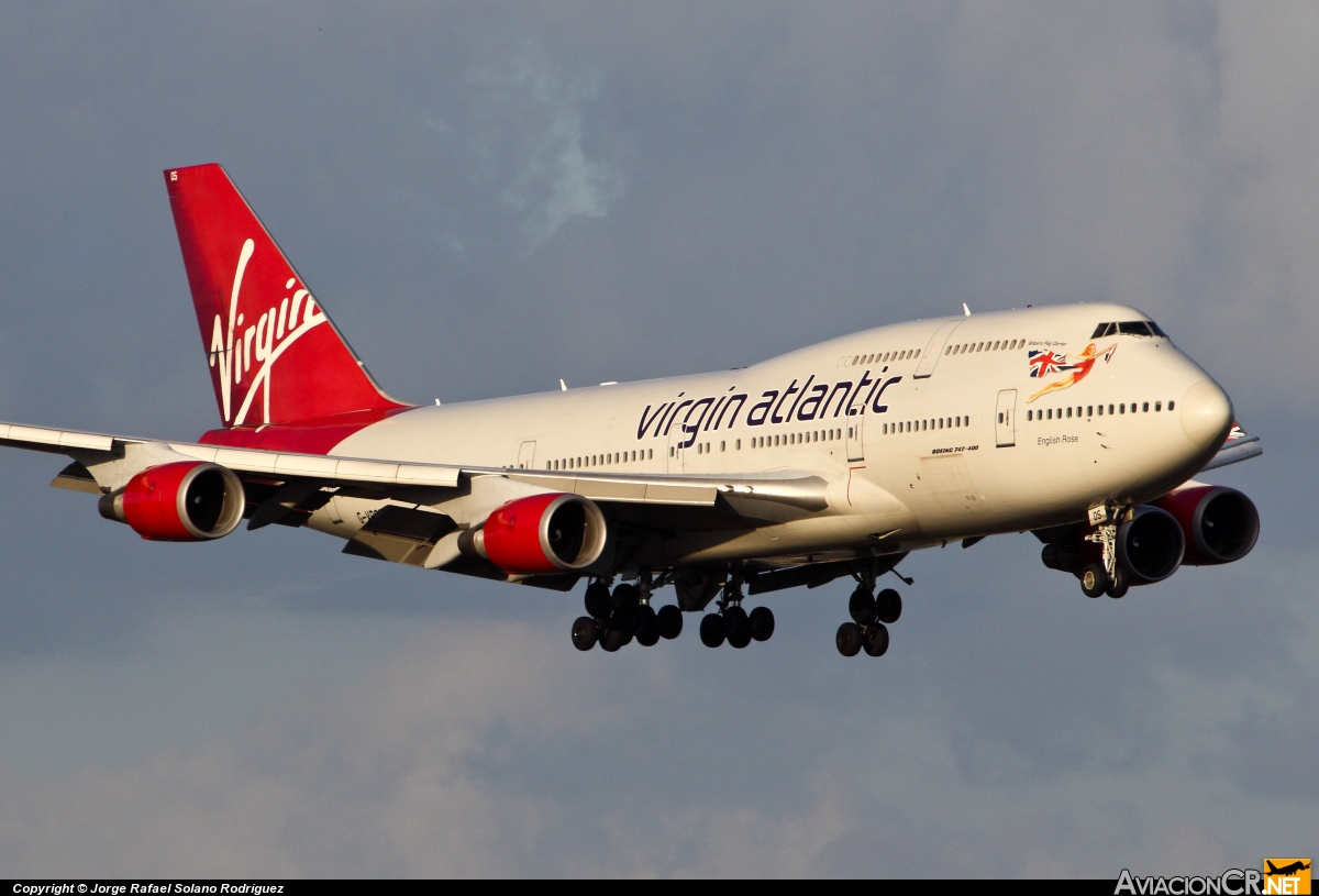 G-VROS - Boeing 747-443 - Virgin Atlantic